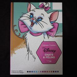 Coloriages mystères Disney Chats et félins
