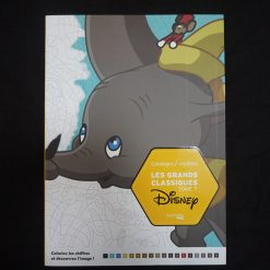 Coloriages mystères Les grands classiques Disney tome 7