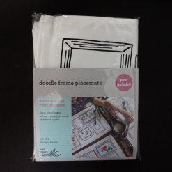 Eatsleepdoodle Frame Placemats set van 4