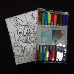 Eatsleepdoodle Butterfly Placemat to go