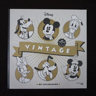 Les coloriages Disney Vintage