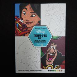Coloriages mystères Disney Trompe l'Oeil tome 2