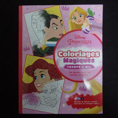 Disney Princesses - Coloriages Magiques - Trompe l'oeil