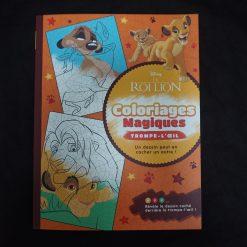Le Roi Lion - Coloriages Magiques - Trompe-l'oeil - Disney