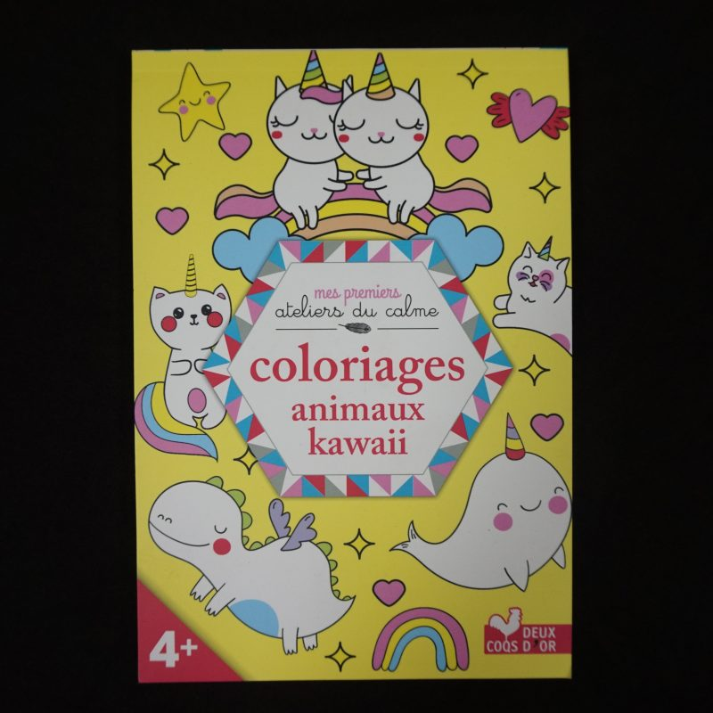 Coloriages Animaux Kawaï