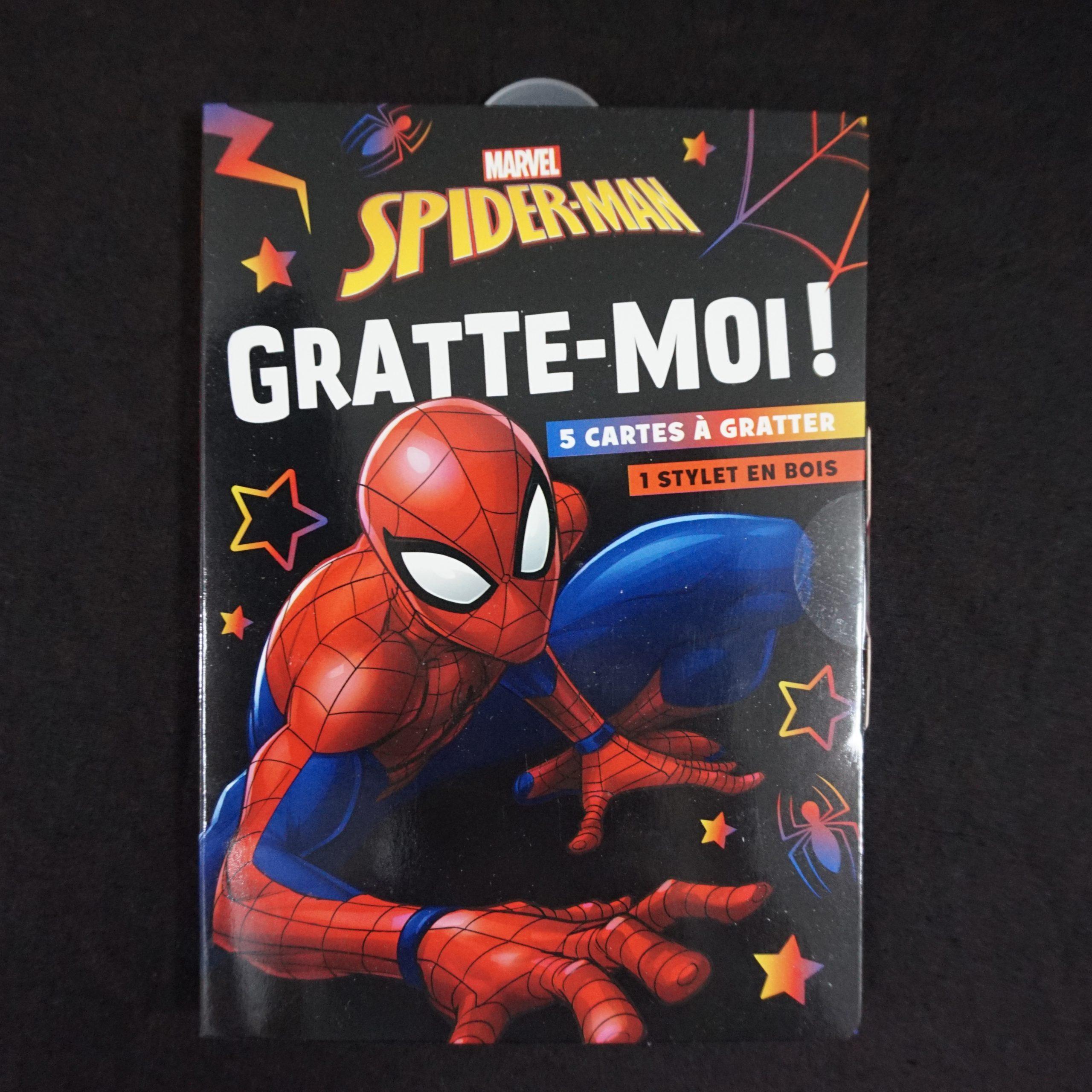 Spider-man - Mini pochette - Gratte-moi ! - Marvel