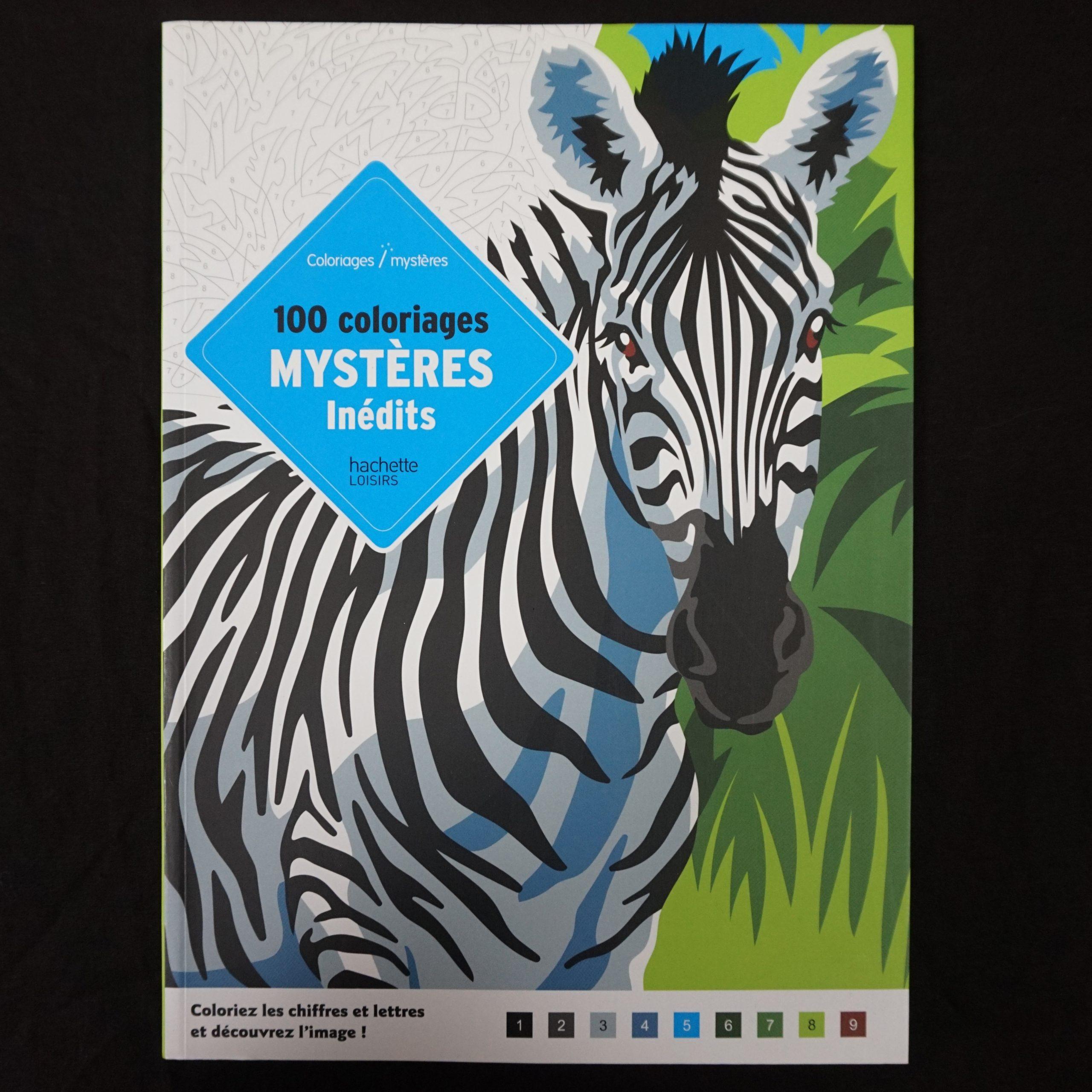 100 Coloriages Mystères Inédits