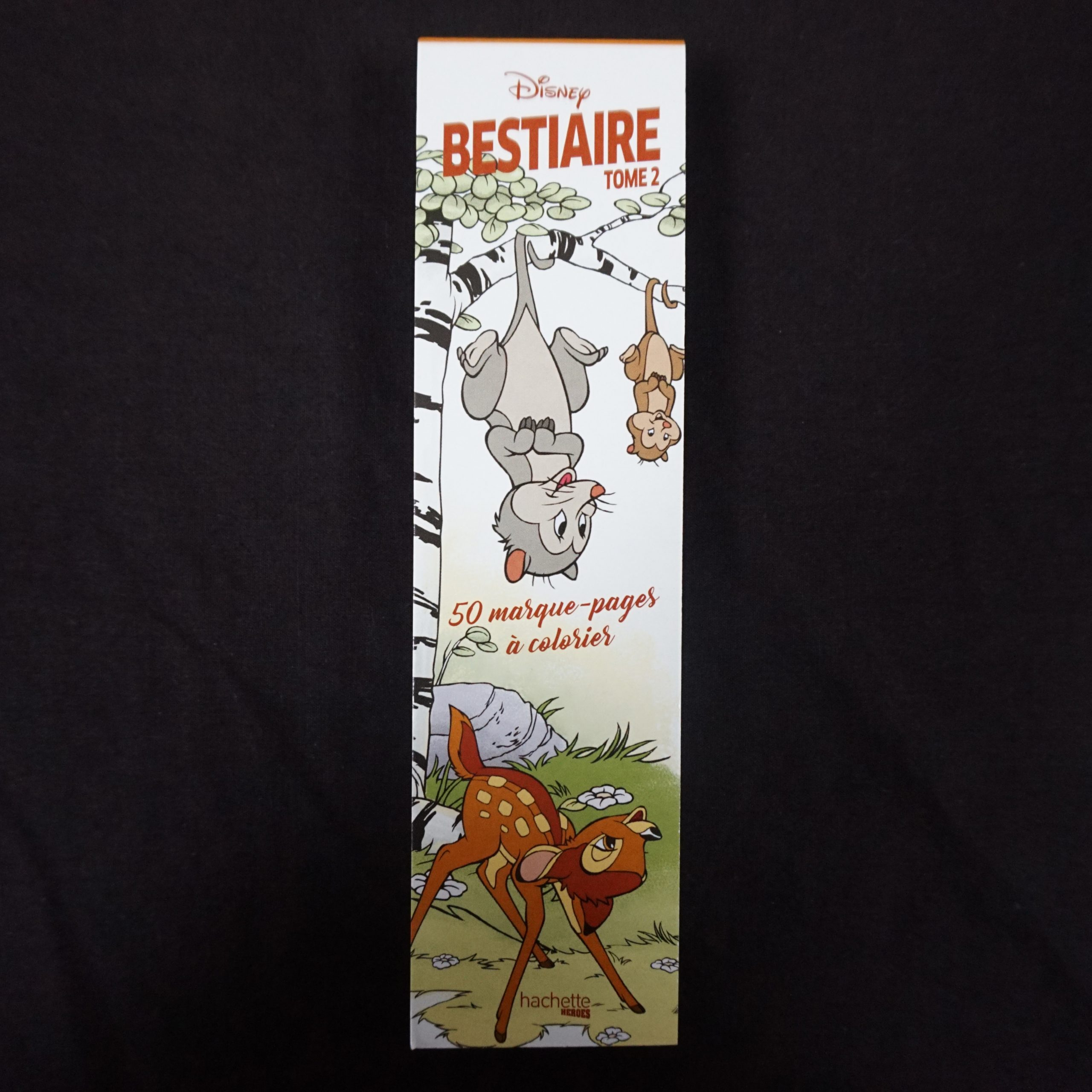 Marque-Pages Disney Bestiaire Tome 2