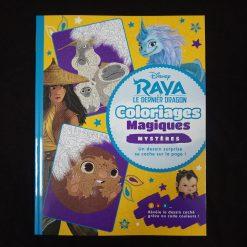 Raya et le Dernier Dragon - Coloriages Magiques - Mystères - Disney